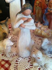 Nativity missing leg 2